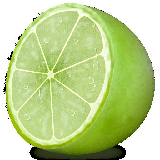 Fruit, Lemon, Lime Icon