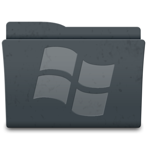Folder, System, Windows Icon