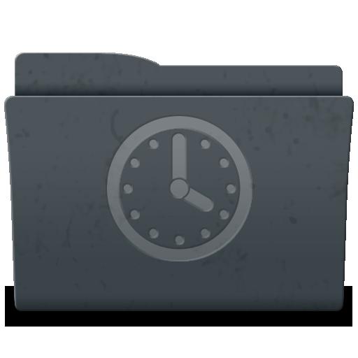 Folder, Scheduled Icon
