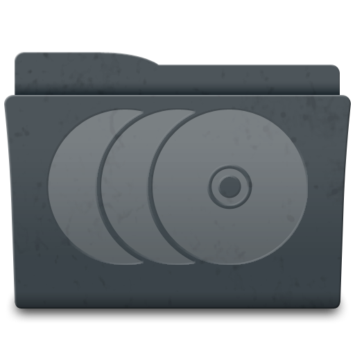 Discs, Folder Icon