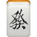 Dragon, Green, Mahjong Icon