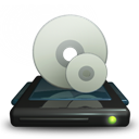 3d, Cd, Drive, Rom Icon
