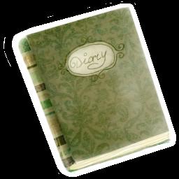 Diary, Old Icon