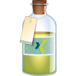 Bottle, Xing Icon