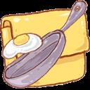 Folder, Recipe Icon