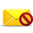 Email, Not, Validated Icon