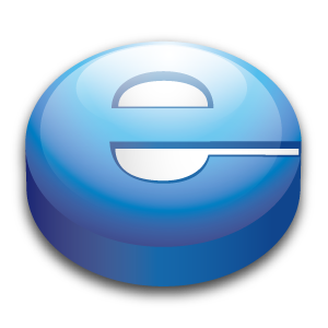 Explorer, Internet, Puck Icon