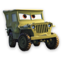Cars, Sarge Icon