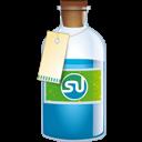Bottle, Stumbleupon Icon