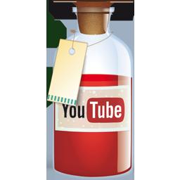 Bottle, Youtube Icon