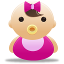 Baby, Girl Icon