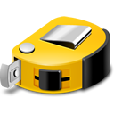 Measure, Tape Icon
