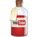 Bottle, Youtube Icon