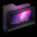 Black, Desktop, Folder Icon