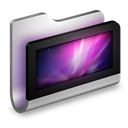 Desktop, Folder, Metal Icon