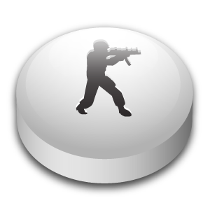 Counter, Puck, Strike Icon