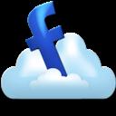Cloud, Facebook Icon