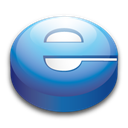 Explorer, Internet, Puck Icon