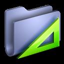 Applications, Blue, Folder Icon