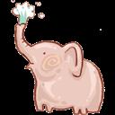 Bin, Elephant, Full, Recycle Icon