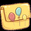 Balloons, Folder Icon