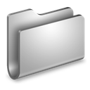 Folder, Generic, Metal Icon
