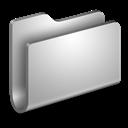 Folder, Generic, Metal Icon