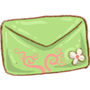 Green, Mail Icon