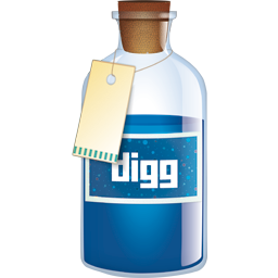 Bottle, Digg Icon