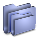 Blue, Folders Icon