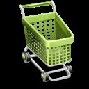 3d, Cart, Shopping Icon