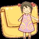 Folder, Girl Icon
