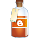 Blogger, Bottle Icon