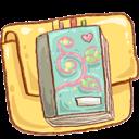 Alt, Folder, Notebook Icon