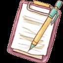 Mechapencil, Notepad Icon