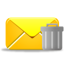 Email, Trash Icon
