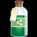 Bottle, Sharethis Icon