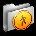 Folder, Metal, Public Icon