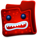 Creature, Folder, Red Icon