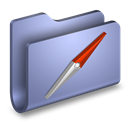 Blue, Folder, Sites Icon