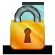 Keylock, Orange Icon