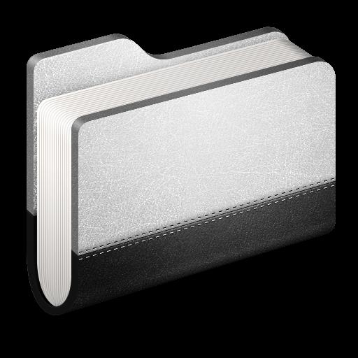 Folder, Llibrary, Metal Icon