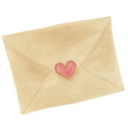Drawing, Love, Mail Icon
