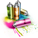 Paint, Spray Icon
