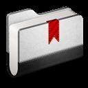 Bookmarks, Folder, Metal Icon