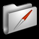 Folder, Metal, Sites Icon
