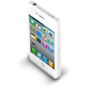 Iphone, White Icon