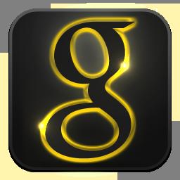 Glow, Google, Neon Icon