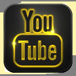Glow, Neon, Youtube Icon
