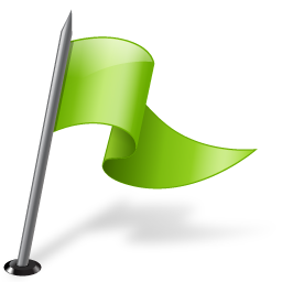 chartreuse flag map marker right icon download free icons